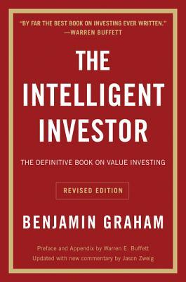 Front cover of the intelligent investor by Benjamin Graham